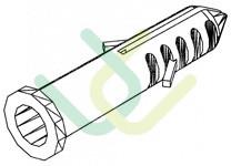 Dübel 8mm, 2003, L35,
